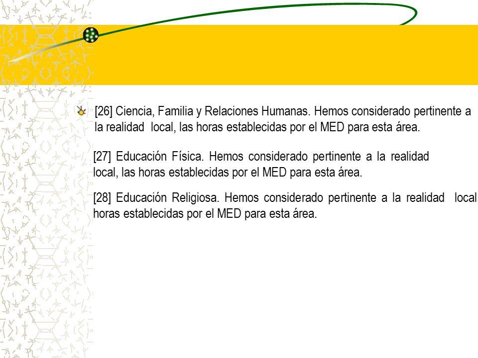 [26] Ciencia, Familia y Relaciones Humanas